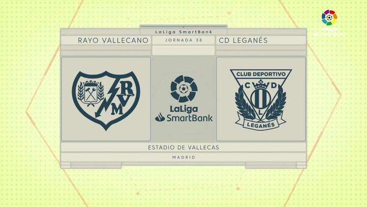 LaLiga SmartBank (J38): Resumen y goles del Rayo Vallecano 1-1 Leganés