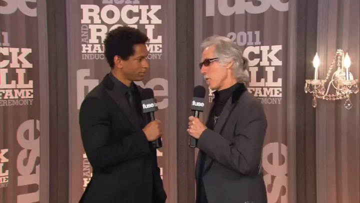 Fuse Presents: Rock Hall: John Densmore Interview Part 2 - 2011 Rock & Roll Hall of Fame Induction Ceremony