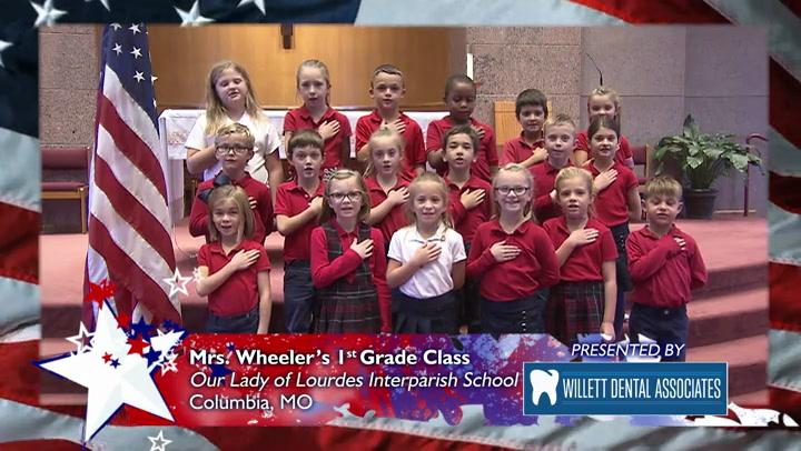 Our Lady of Lourdes Interparish School - Mrs. Wheeler - 1st Grade
