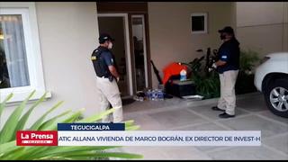 Atic allana vivienda de Marco Bográn, ex director de Invest-H