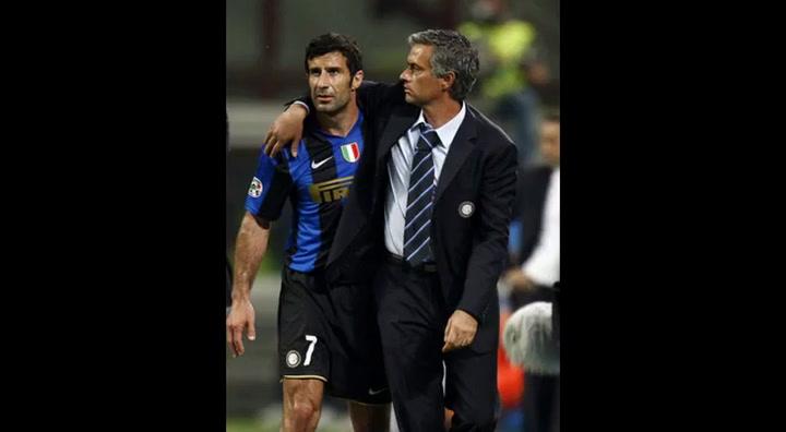 Mourinho en su etapa en el Inter de Milan