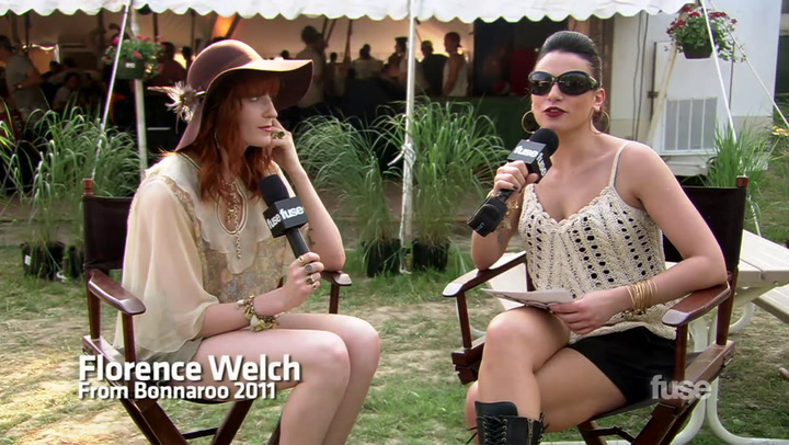 Festivals: Bonnaroo: Florence + The Machine On Ceremonials and Touring (Bonnaroo 2011)