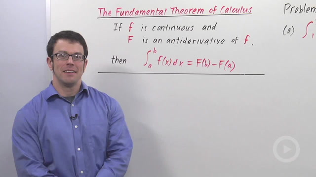 The Fundamental Theorem of Calculus - Problem 2