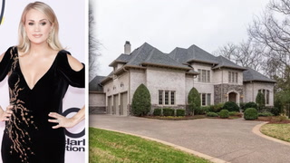 Carrie Underwood Lists the Tennessee Mansion She Left Behind