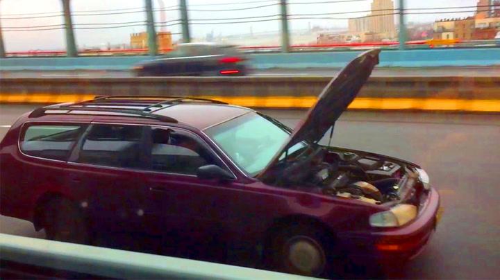Sjåføren kan umulig se veien