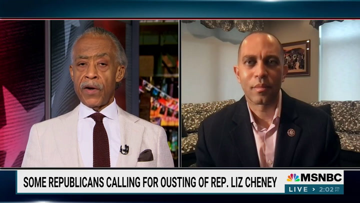 Jeffries on GOP Push to Oust Cheney: 'We Believe in Democracy, They Appear to Be All About Autocracy'