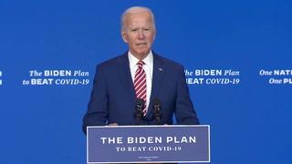 Biden promete vacuna para covid-19 gratis para