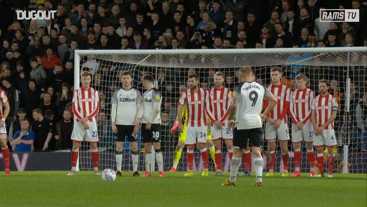 Wayne Rooney's free-kick vs Stoke City