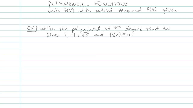 Polynomial Function - Problem 3