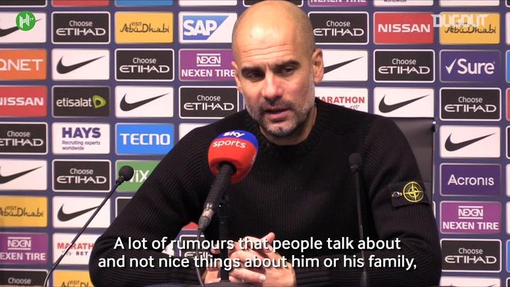 Pep Guardiola 'Admires' Raheem Sterling