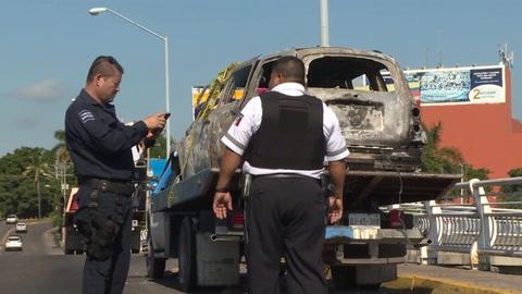 Escenas de guerra en ciudad mexicana tras operativo por hijo del Chapo
