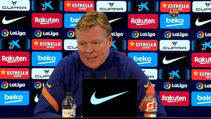El técnico del Barça no habla de fichajes pero sí de posibles salidas