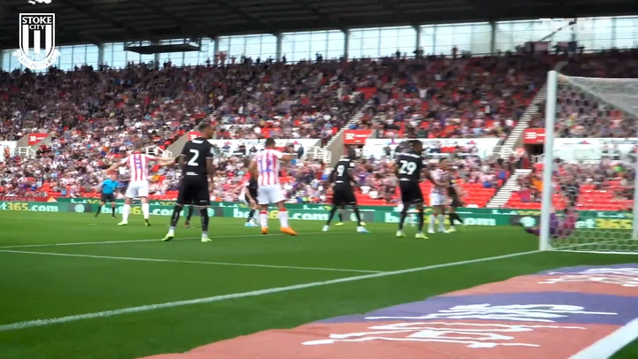 Sam Clucas' top five Stoke City goals