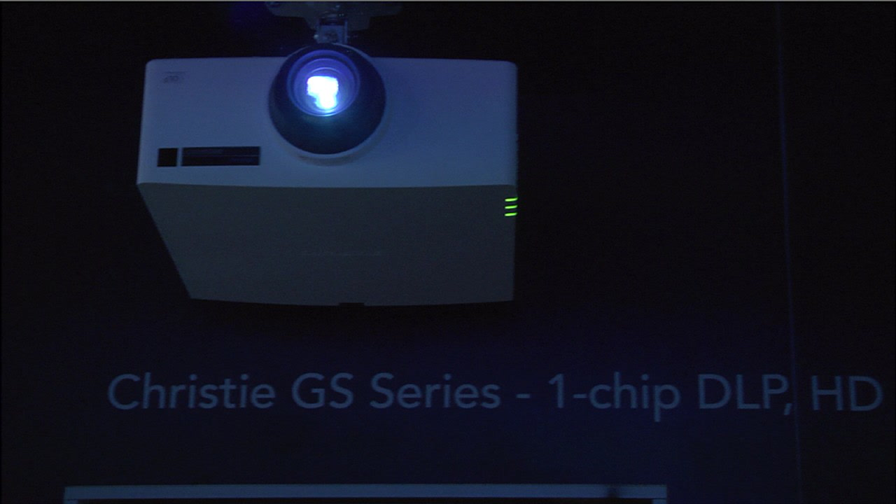 Meet Christie's First Laser Phosphor Series of 1-Chip DLP Projectors at  InfoComm 2014 - YBLTV