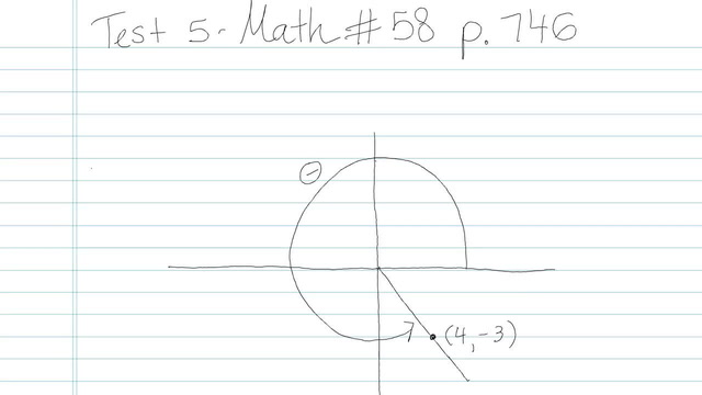 Test 5 - Math - Question 58