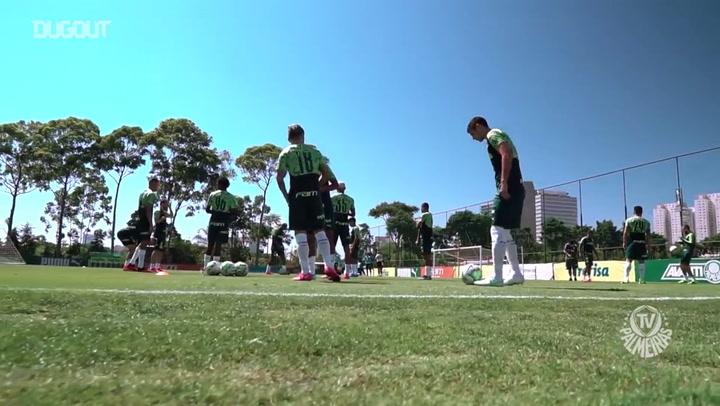 Palmeiras' training for game against Atlético-MG