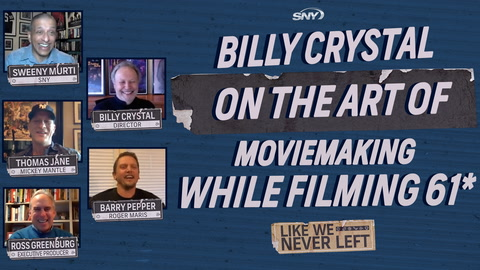 Like We Never Left: Billy Crystal shares moviemaking secrets from the set of the movie 61*