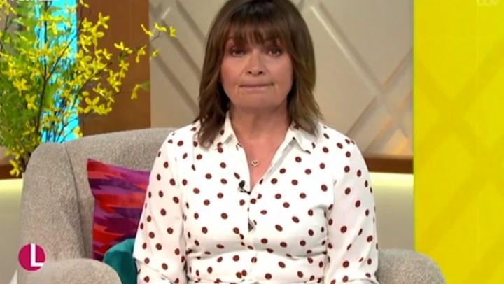 Lorraine Kelly forced to apologise