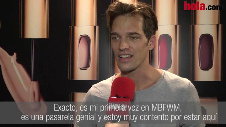 Michael Gstoettner: 'Es mi primera vez en Madrid, es una pasarela genial y estoy muy contento'