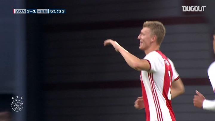 Perr Schuurs rounds off Ajax team move against SC Heerenveen
