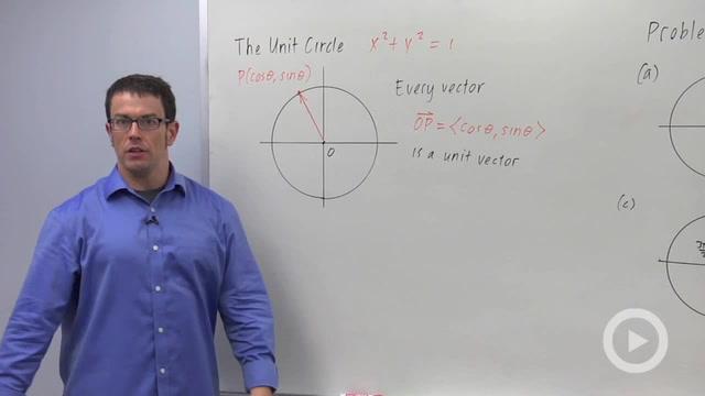 Unit Vectors - Problem 3