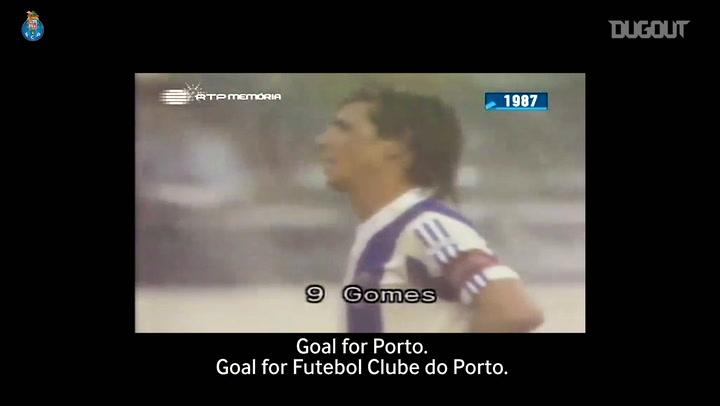 João Pinto relives Fernando Gomes' FC Porto career