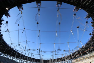 Raising the roof at Raiders Allegiant Stadium – Video