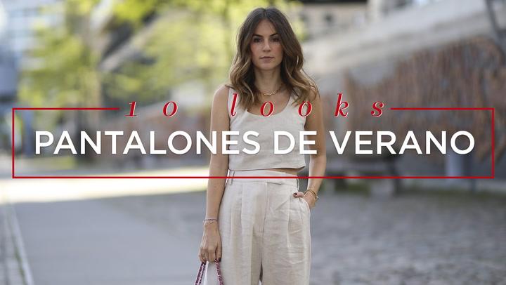 10 looks de pantalones de verano