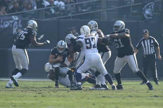 Vegas Nation: Chargers Overpower Raiders 20-6