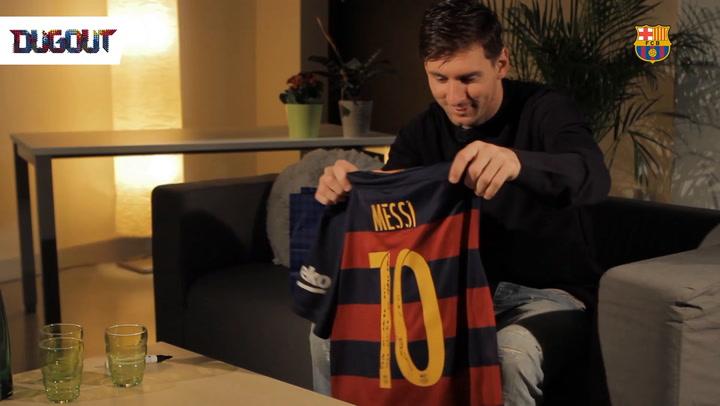 When Messi Met Ronaldinho