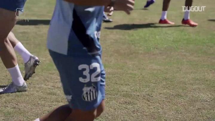 Santos begins preparation for match against San Lorenzo in 2021 Libertadores