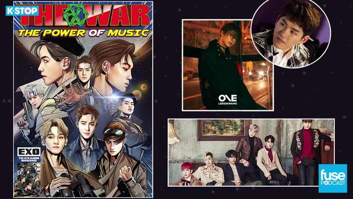 EXO, Lee Gikwang, B.A.P, and Hoya Leaves Infinite: K Stop