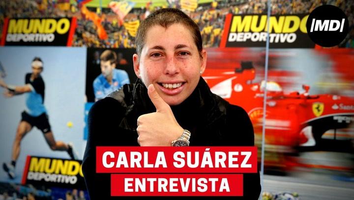Entrevista a la tenista Carla Suárez
