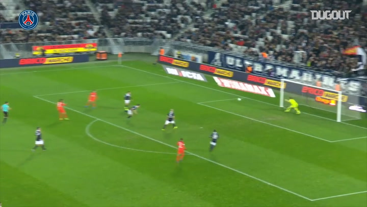 Edinson Cavani's stunning volley vs Bordeaux in 2017
