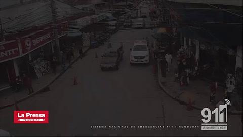 ¡Persecución de película! Video del 911 muestra captura de asaltantes en El Progreso
