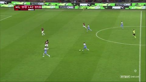 AC Milan 0 - 1 Lazio