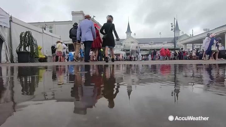 Rain postpones NASCAR race at Dover, Delaware, to Monday