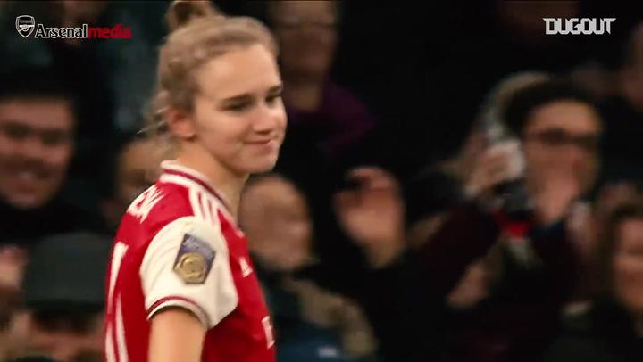 Vivianne Miedema: Arsenal's unstoppable goalscorer