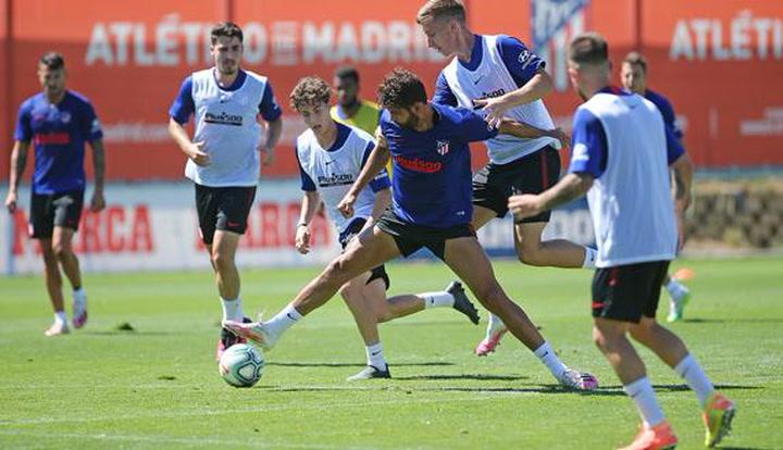 El Atlético ya prepara el partido del Camp Nou