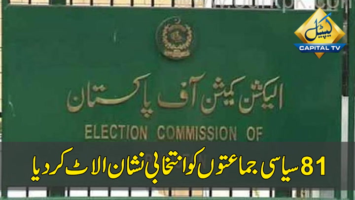 Election Commission Allots electoral symbols to 81 political parties