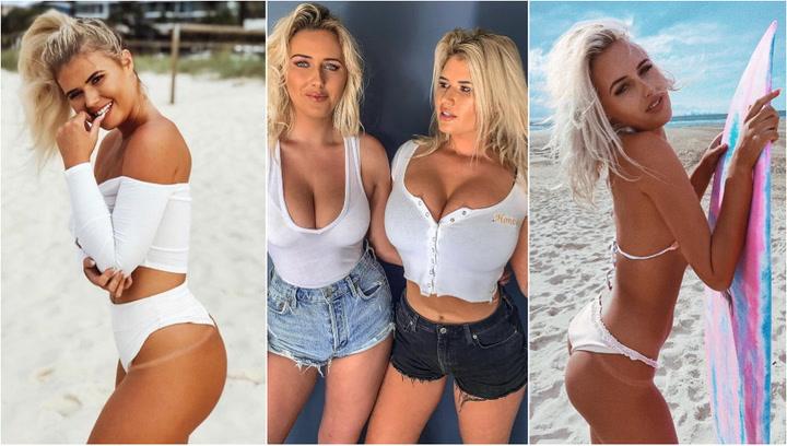 Ellas son Ellie-Jean y Holly-Daze Coffey, las hermanas surfistas que triunfan en OnlyFans