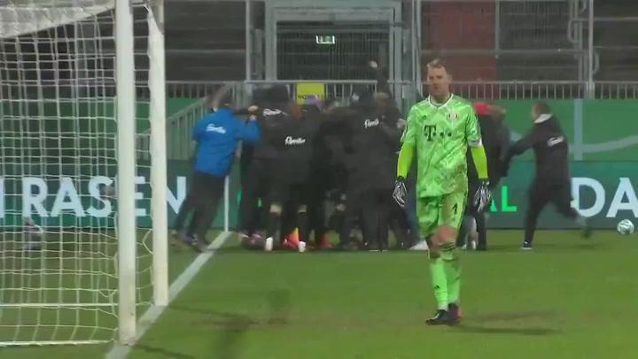 ¡El Bayern eliminado por un Segunda en la Copa alemana!