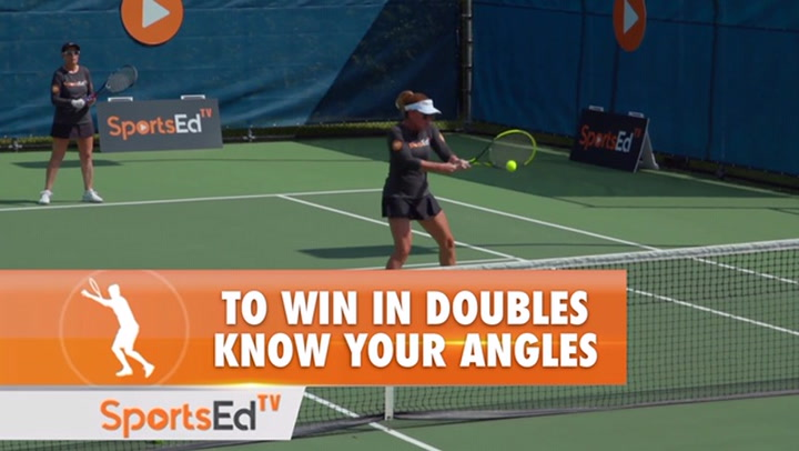 To Win In Doubles, Know Your Angles