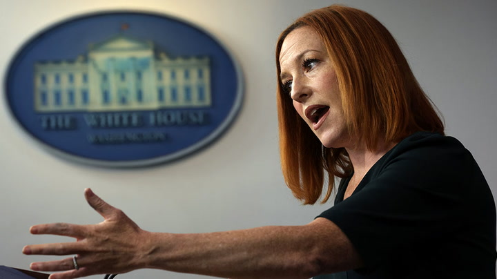 Watch live as White House press secretary Jen Psaki holds briefing