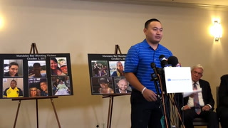 Las Vegas shooting victims speak at press conference after MGM lawsuit