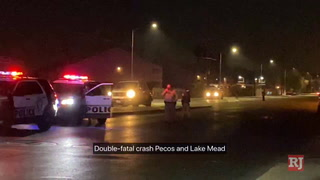 Double fatal crash Pecos and Lake Mead