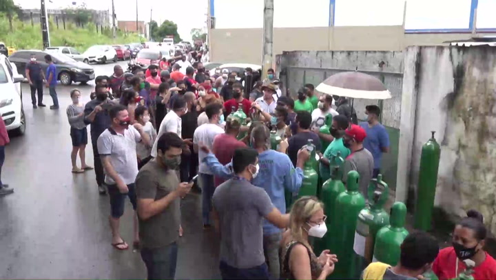 Países de Latinoamérica batallan con la pandemia de la COVID-19