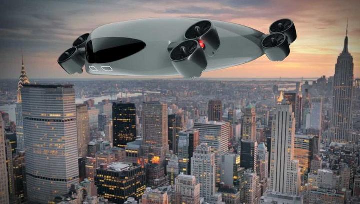 Así es la nave espacial urbana que puede transportar a 40 pasajeros volando a más de 500 km/h