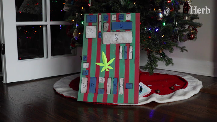 How To Make A Cannabis Advent Calendar