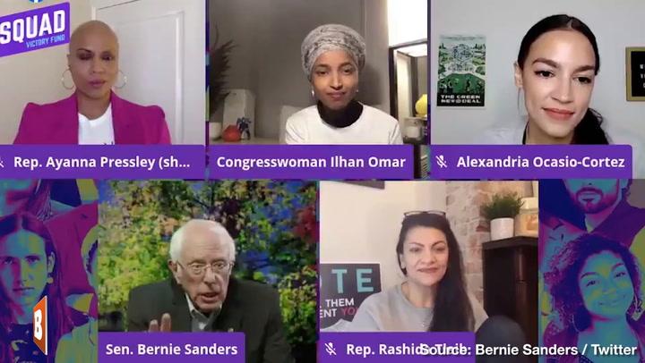 Bernie Tells Squad: